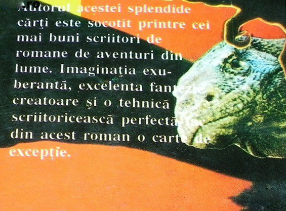 1994 - Crocodilul sacru - back - part